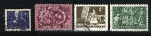 Hungary #617,817,875,1525   Mint & used  PD
