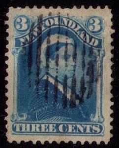Newfoundland Sc 49  Blue Used VF