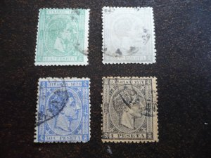 Stamps - Cuba - Scott# 67-70 - Used Set of 4 Stamps
