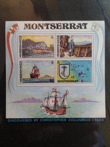 Montserrat 295a F-VF MHH. Scott $ 16.00.
