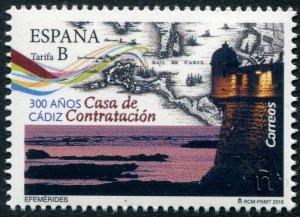 HERRICKSTAMP NEW ISSUES SPAIN Sc.# 4256 Cadiz, House of Trade