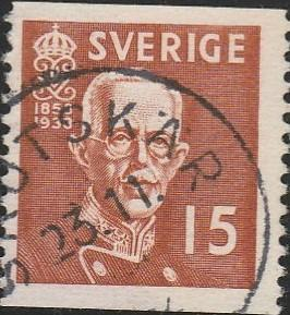 Sweden, #276 Used From 1938