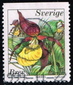 Sweden #2344 Lady's Slipper; Used (0.75)