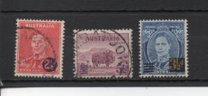 Australia 188-190 used