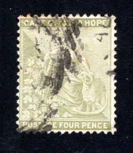 Cape of Good Hope Scott 48, F, Used, CV $4.25 ..... 1190047