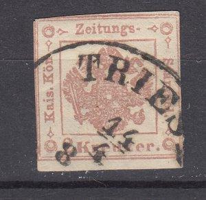 J29467, 1858-9 austria used  #pr3