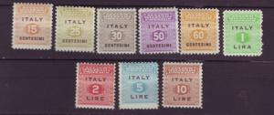 J20433  jlstamps 1943 italy set mhr #1n1-9 military occupation