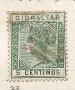 Gibraltar 1886-89 Early Issue Fine Used 5c. 259546