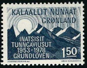Greenland Slania Scott #108 VF MNH...Nice!