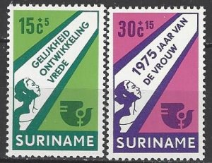 Suriname  B220-1  MNH  UN Women's Year