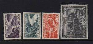 France #C23 - #C27 VF/NH Set
