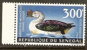 1968 Senegal Scott C56 Knob-Billed Goose MNH