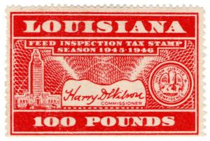 (I.B) US Revenue : Feed Inspection 100lbs (Louisiana)