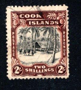Cook Islands, Scott 113, F/VF, Used,  CV $15.00   ....... 1500065