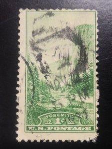 US #740 used