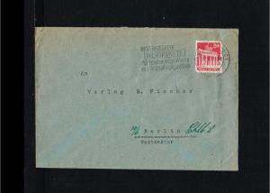 1951 - Allied Occupation Cover - Unversiegelte Wertpakete …. [B09_167]