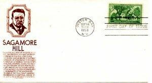 US FDC #1060 Nebraska, Cachet Craft (8296)