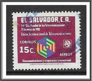 Salvador #C516 Air Mail Used