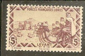Syria  Scott M10  Camel Corps   Unused