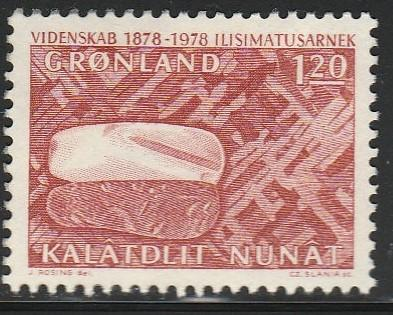 Greenland, #107 Used From 1978
