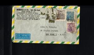 19?? - Brasil Air letter - To New York [B06_115]