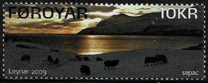 Faroe Is #519 MNH Stamp - Leynar - View