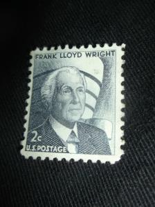 Frank Lloyd Wright 2 Cent Stamp