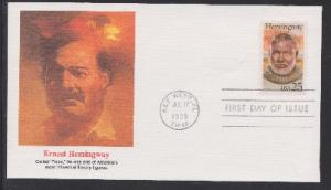 2418 Ernest Hemingway Unaddressed Fleetwood FDC