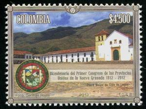 HERRICKSTAMP COLOMBIA Sc.# 1384 First Congress United Provinces