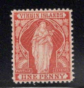 Virgin Islands  Scott 22 MH* Saint Ursula stamp