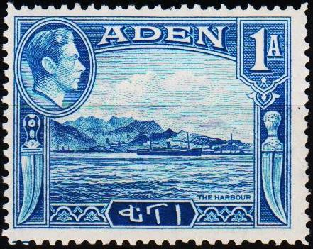 Aden.1939 1a  S.G.18 Mounted Mint