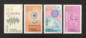 Turkey 2005 #2981-4, Europa 50th Anniversary, MNH.