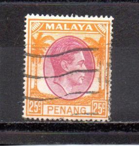 Malaya - Penang 16 used