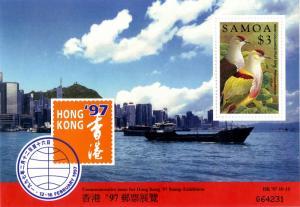 SAMOA 953 MNH S/S SCV $4.00 BIN $2.75 BIRDS