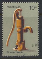 Australia  Sc# 533  Pioneer Life  Water Pump Used