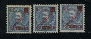 Kiongo 2-4   Mint VF 1916 PD