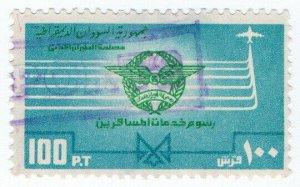 (I.B) Sudan Revenue : Airport Departure Tax 100pt