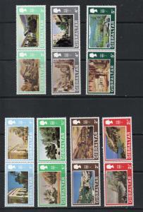 Gibraltar 244b-256a MNH