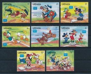 [22515] Grenada 1986 Disney Characters play basebal  MNH