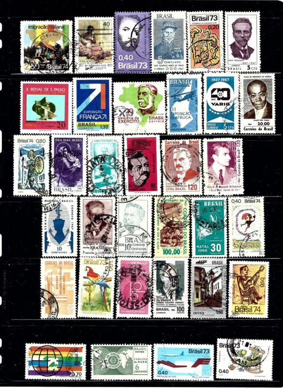 Brazil #5 34 different mostly used