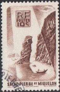 St. Pierre et Miquelon #324 Used