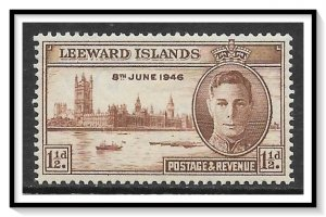 Leeward Islands #116 Peace Issue MH