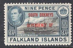FALKLAND ISLANDS SCOTT 4L7