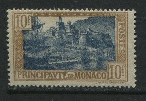 Monaco 1925 10 francs mint o.g. hinged
