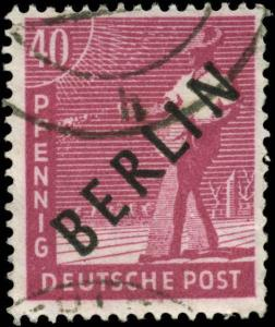 Germany Scott #9N12 Used  Berlin