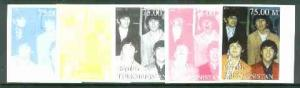 Turkmenistan 1999 The Beatles from Events & People of...