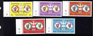 Sierra Leone 454-58 MNH 1979 set