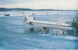 7471 Aviation Postcard  IRAN AIR TOURS TU-154M EP-ITJ   Airlines
