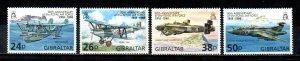 Gibraltar #755-758  MNH  Scott $4.70