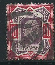 GB Edward VII  SG 254   used  lowest priced shade